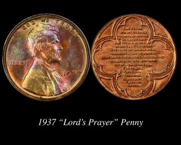 C:\Users\Charmy\Pictures\00Charmy's Exonumia and CWTs\Capped Cent Lord's Prayer Penny.jpg